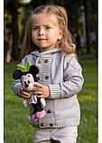 Вязаная детская кофточка Саймон (1-3 года), фото 3