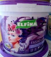 """Краска фасадная ТМ """"ELFINA"""" """"Фасад LUX"""" 3 л., 4,2 кг."""