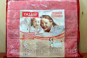 Электро-простынь Yasam (Турция) розовая