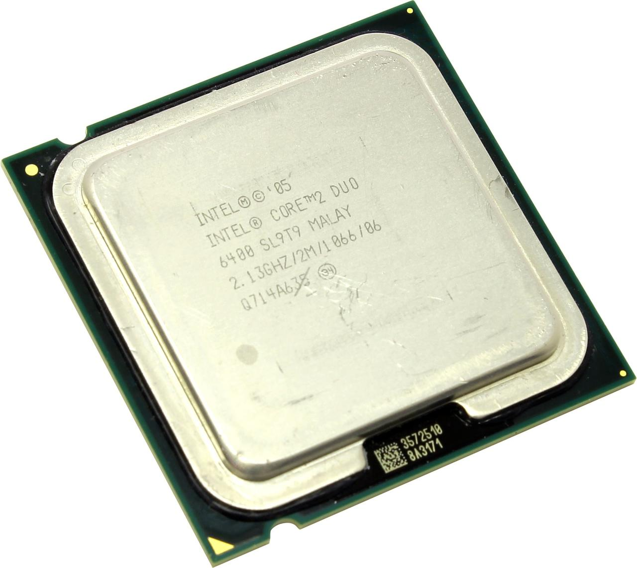 Процессор Intel® Core™2 Duo E6400 2 МБ\2,13 ГГц\1066 МГц