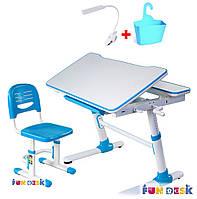 Комплект Стол трансформер, стул, лампа , фото 1