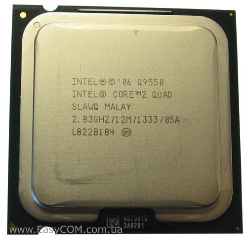 Процессор Intel® Core™2 Quad Q9550 12 МБ\2,83 ГГц\1333 М