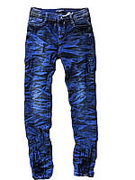 Брюки джинсовые для девочки оптом,  Dream Girls размеры 8-16  арт. H719