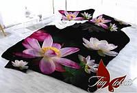 Комплект постельного белья 3d двуспальный ТМ TAG Микросатин MS-CY17049