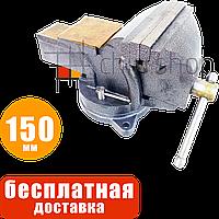 Слесарные тиски поворотные 150 мм / 6″ с наковальней Mar-Pol, тиса, тіски, лещата слюсарні поворотні