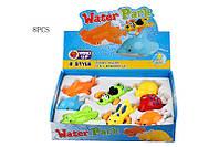 Водоплавающие игрушки 8 видов в коробке 25*18 см