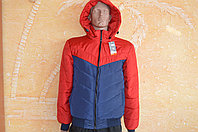 Мужские куртки весна-осень на манжете  46-52,капюшон на замке