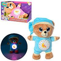 Детский ночник с проектором звездного неба «Мишка» 5464