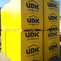 Блок газобетон UDK  600Х200Х375 газоблок стеновой, фото 2