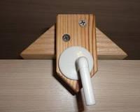 Кронштейн, крепеж держатель для детского мобиля с пластиковой ручкой