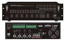 Мікшируючий підсилювач 500Вт з регуляторами гучності  по 5 зонам та селектором. Вих: 4Ом, 70В, 100В, 5x100В, Вх: 4xMIC, 2xAUX, 1xRPC-5Z. Діапазон