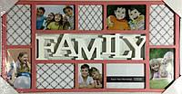 "Коллаж на 10 фото ""Family""(AM8612)"