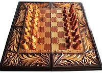 Купить шахматы с резьбой в Украине, фото 1