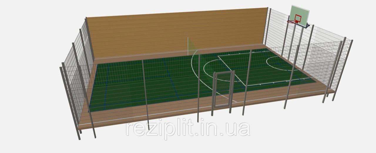 Строительство спортивной площадки во дворе частного дома