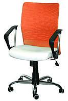 Кресло Аэро LB сиденье Неаполь N-50, спинка Сетка оранжевая (AMF-ТМ)