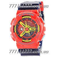 Часы мужские наручные Casio G-Shock GA-110 Red-Dark-Blue