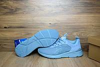 Женские кроссовки asics, цвет - голубой, материал - сетка, подошва - пенка