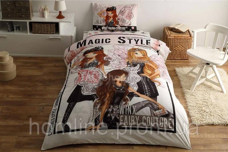 Постельное белье Tac Disney Winx Fairy Couture 160*220 подростковое