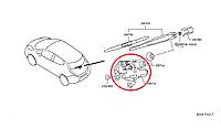 Nissan Leaf Моторчик заднього двірника 