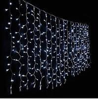 Гирлянда штора 120 led, 3,0х0,5 метра (мульти)