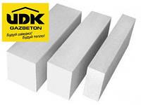 Блок газобетоный UDK  600Х300Х100 газоблок стеновой с Бесплатной доставкой!