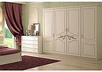 Недорогой шкаф для спальни Лира в Прованс стиле