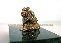Оригинальный сувенир, бронзовая фигурка Кот