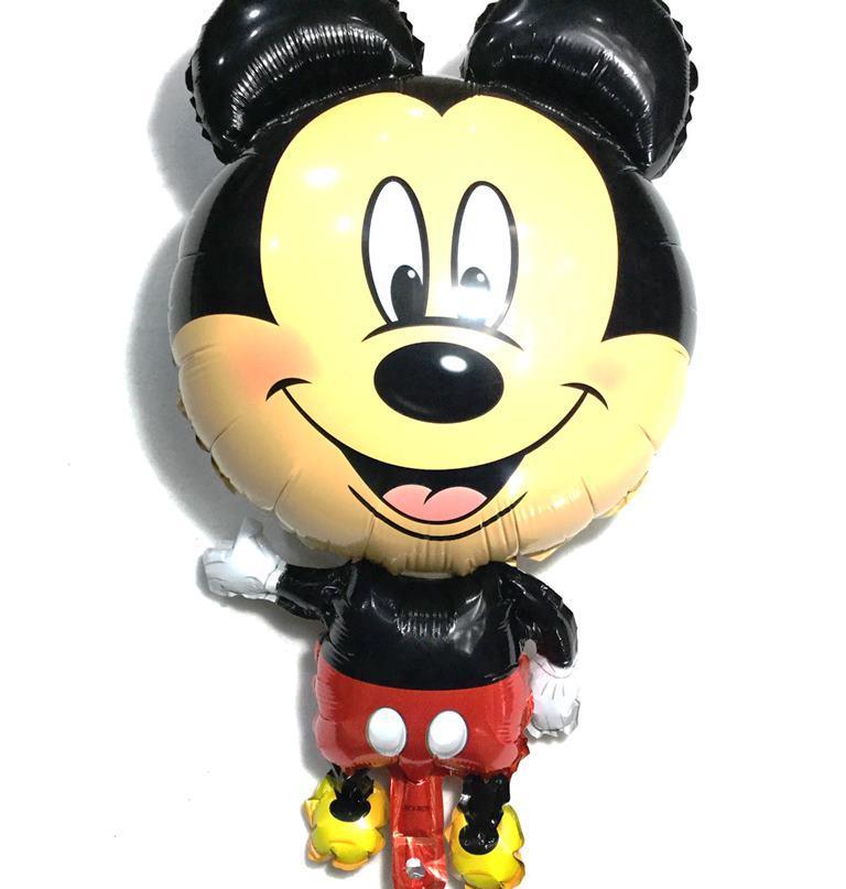 Фольгированный фигурный шар Микки большой