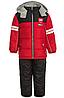 Зимний  комбинезон iXtreme (США) раздельный красно-черный для мальчика от 2 до 5 лет