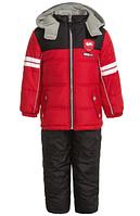 Зимний  комбинезон iXtreme (США) раздельный красно-черный для мальчика от 2 до 5 лет, фото 1