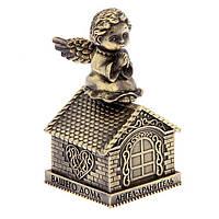 Колокольчик Ангел-хранитель 4х7 см