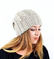 Модная  шапка двойная