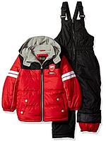 Зимний  комбинезон iXtreme (США) раздельный красно-черный для мальчика от 2 до 7 лет