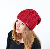 Креативная вязанная шапка
