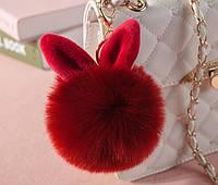Меховые шарики с ушками