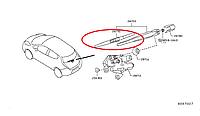 Nissan Leaf Щітка заднього двірника