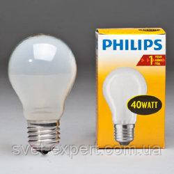 PHILIPS A55 40Вт Е27 матовая