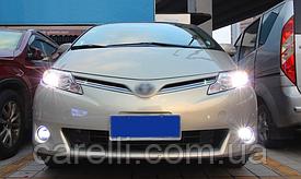LED светодиодные противотуманные фары с DRL для Toyota и Lexus (Osram Style)