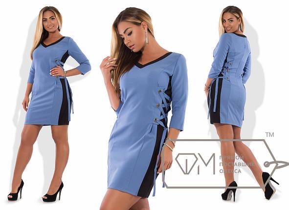 Купить Платье со шнуровкой по бокам оптом и в розницу в Одессе от ... 0bc45768642