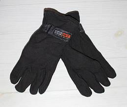 Перчатки стильные мужские флисовые утепленные