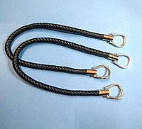 Ручка для сумки кожзам плетенная (6054) пара