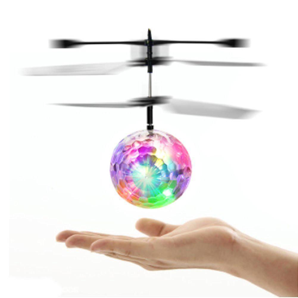 Летающий диско шар Whirly Ball led  (Летающий Мяч Шар Whirly Ball led)