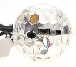 Летающий диско шар Whirly Ball led  (Летающий Мяч Шар Whirly Ball led), фото 2