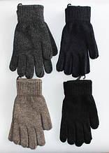 Перчатки вязанные шерстяные мужские утепленные
