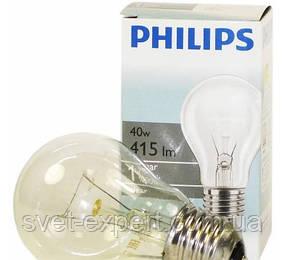 PHILIPS A55  40Вт Е27 прозрачная