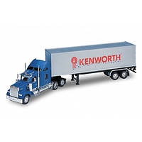Трейлер Kenworth W900 модель машинки Welly