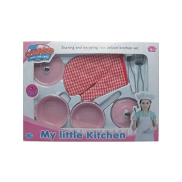 Набор посуды детский 7 предметов S098E