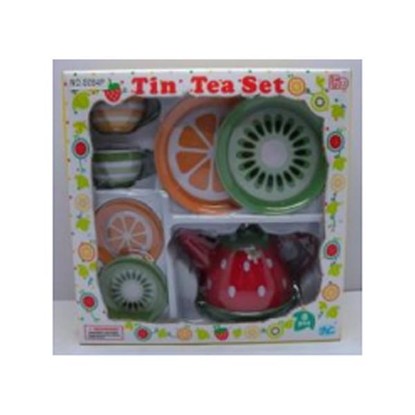 Набор посуды детский Чайный сервиз 8 предметов S084