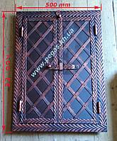 Дверка под коптилку металлическая №5 (500х700)