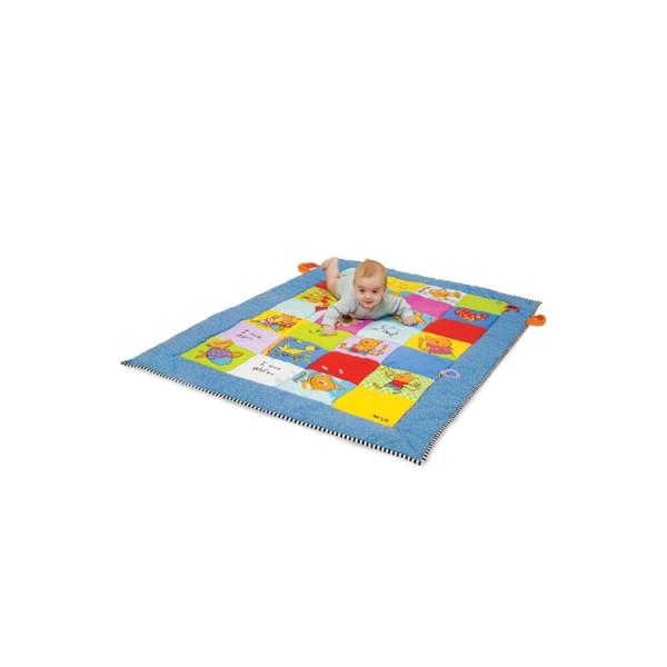 Развивающий большой коврик Весёлые Котята 100х150см Taf Toys